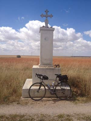 Cycling the Meseta on the Camino de Santiago