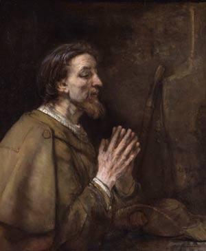 Saint James the Elder as a Pilgrim by Rembrandt