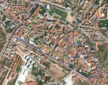 Astorga vue du ciel