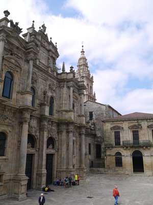 The Paraíso entrance to the Cathedral of Santiago
