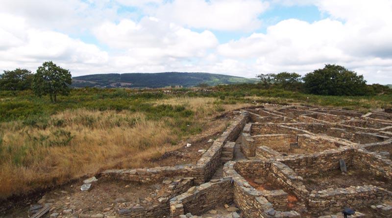 Le Castro de Castromaior entre Portomarin et Palas de Rey