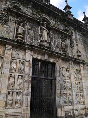 The Holy Door - Entrance to the Cathedral of Santiago only opened on Jubilee year