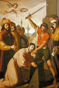 St James The Greater Martyrdom