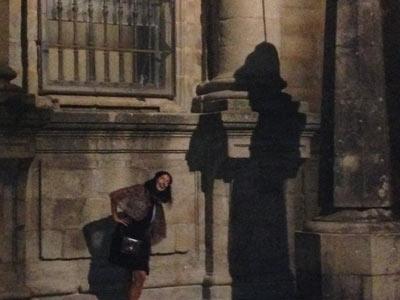 El Peregrino Escondido - the hidden pilgrim in Santiago de Compostela